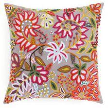Lima Grey Decorative Pillow