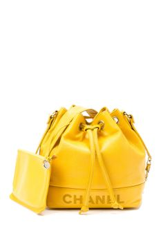 55ded39c84cf Vintage Chanel Leather Chain Shoulder Bag by LXR on