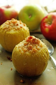 Baked Crumble Apples Recipe on Yummly. @yummly #recipe