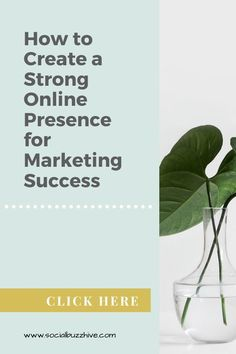 Key points for creating a strong online presence for #marketing success that you need to capture more business. Marketing Tools, Content Marketing, Digital Marketing, Relationship Building Skills, Importance Of Branding, Create A Timeline, Successful Online Businesses, How To Create Infographics, Reputation Management