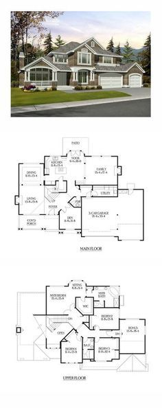 Plan 36030DK Designer Mountain Lodge Architectural design house