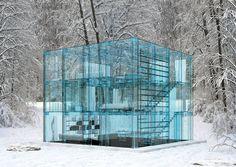 Glass House by Santambrogiomilano. Milan, Italy...