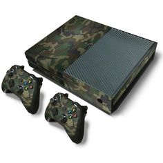 Video Game Sticker Skins Decal For XBOX ONE Console Controllers Camouflage Color