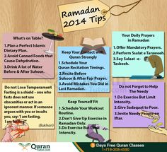 Fasting in Ramadan 2014 – Tips and Rules to Get Maximum Blessings