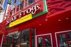 The new Señor Frog's at Treasure Island Hotel & Casino on the Las Vegas Strip opened 24 April 2012.