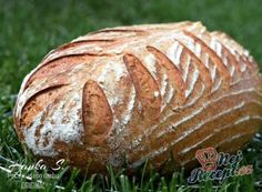 Nafouknutá chlebová placka z bývalé Jugoslávie Bread Recipes, Cooking Recipes, Healthy Recipes, Bread Art, Salty Foods, Our Daily Bread, Ciabatta, Sourdough Bread, What To Cook