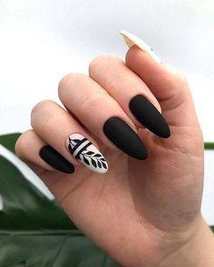 Natural Acrylic Black Almond & Square Nail Designs for Short Nails - . - Natural Acrylic Black Almond & Square Nail Designs for Short Nails – - Square Nail Designs, Black Nail Designs, Short Nail Designs, Nail Art Designs, Nails Design, Acrylic Nail Designs, Cute Acrylic Nails, Cute Nails, Pretty Nails