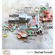 Rachael Funnell is up on our blog today showcasing another of her wonderful creations using the gorgeous 49 and Market Captured Adventures…