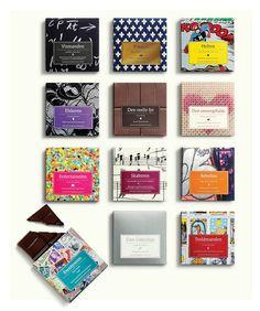 Chocolates with attitude 2012 by Bessermachen DesignStudio , via Behance