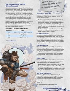 Dungeons And Dragons Homebrew, D&d Dungeons And Dragons, Dnd 5e Monk, D D Races, Dragon House, Dnd Classes, Dnd Funny, Dnd 5e Homebrew, Cool Monsters