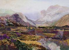 Judith Baker Montano Crazy Quilt, Scottish Highlands, Art Quilt, Bakers Montano, Laveta Jude, Judith Bakers, Quilt Landscapes, Fiber Art, Photos Shared