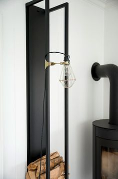Lovely industrial light fixture. Love the clamp.