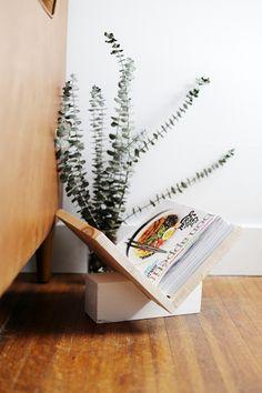 DIY Wooden Magazine