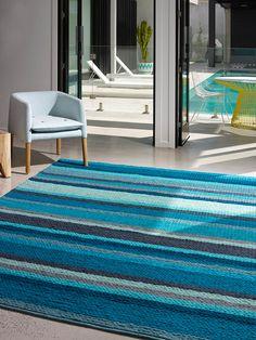 Rebecca-Judd-Deep-Sea-blue-we-are-home-decor-insitu Rebecca Judd, Sea Texture, Green Lounge, Interior Stylist, Deep Sea, Beautiful Bedrooms, Cool Style, Hand Weaving, Pure Products
