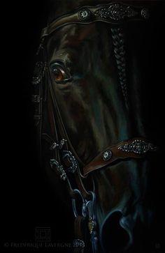 Frédérique Lavergne Equine Art