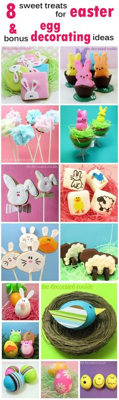 8 treats to make for Easter and 9 egg decorating ideas