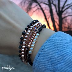 Armcandy in roségold by Perle4you