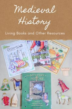 Living Books and Other Resources for Medieval History Studies – The Grace-Filled Life Middle Ages History, Church History, History Activities, Hands On Activities, Medieval Books, Book Of Kells, Mystery Of History, Book Making, Read Aloud