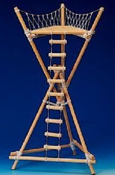"Building an Improvised Tower for Long Term Survival Homesteading - The Homestead Survival .Com ""Please Share This Pin"""