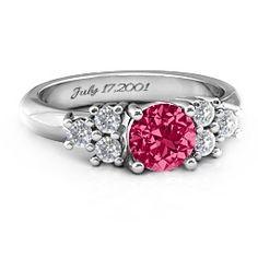 Flourish Engagement Ring