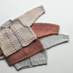 Made with Bio Love, organic cotton. * * * * * Made with Bio Love, alg . - Bente Piester - - Made with Bio Love, organic cotton. * * * * * Made with Bio Love, alg . Baby Knitting Patterns, Knitting For Kids, Lace Knitting, Baby Patterns, Baby Cardigan Knitting Pattern Free, Knit Baby Sweaters, Knitted Baby Clothes, Knitted Baby Cardigan, Cardigan Bebe