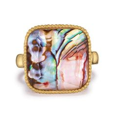 Avon's Splash of Color Collection has coral-color stones with genuine abalone accents inspired by the sublime beauty of the seas. Shop the collection now! Jewelry Shop, Fine Jewelry, Fashion Rings, Fashion Jewelry, Avon Rings, Family Jewels, Watch Necklace, Color Ring, Statement Rings