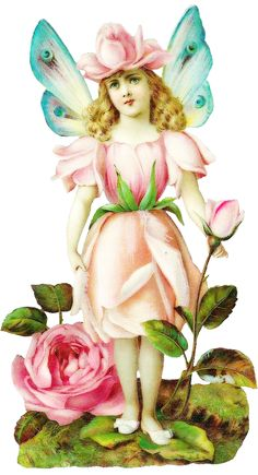 free vintage flower fairy graphics/images