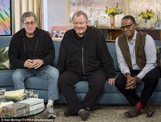 Holly Willouhgby had to fend off the affections of lovestruck Starsky & Hutch star Paul Michael Glaser, 73, on Thursday's installment of This Morning.