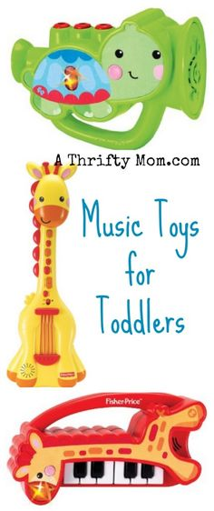 This would be such a fun gift for a toddler Music Toys for Toddlers