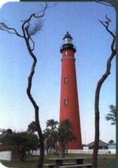 Ponce De Leon Light house South of Daytona Beach, FL