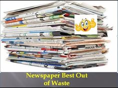 Best out of waste ideas - YouTube
