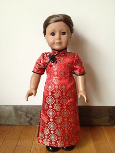 Cheongsam we purchased from Sew Small N Sweet on Etsy!