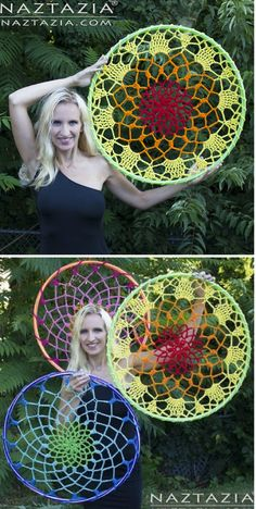Crochet Mandala Dream Catcher