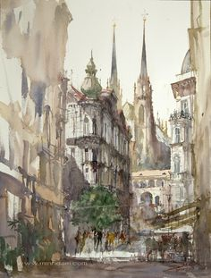 Minh Dam watercolour paintings
