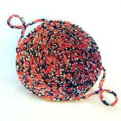 A Slice of Watermelon Basket  Fabric Coiled by NewEnglandQuilter, $18.00