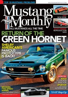 MUSTANG MONTHLY has a specialized editorial package that covers everything from do-it-yourself recommendations to the history of Mustang. It is the only magazine on the market that caters strictly to the Mustang hobby, from vintage to late-model vehicles.   • Comprehensive Tech Articles   • The Hottest Industry News   • Latest Products   • Complete Racing and Events Coverage!   Kindle Magazines are fully downloaded onto your Kindle so you can read them even when you're not wirelessly…