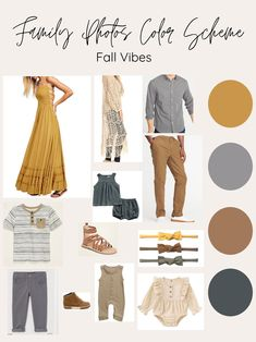 Fall Photo Shoot Outfits, Fall Family Picture Outfits, Family Picture Colors, Summer Family Pictures, Outfits For Family Pictures, Fall Family Pics, Family Family, Family Photography Outfits, Family Portrait Outfits