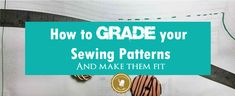 Learn how to Grading Altering Sewing Pattern Sizes. Modify your patterns to use the sizes that really correspond to your body with this easy tutorial. Sewing Lessons, Sewing Class, Sewing Hacks, Sewing Tutorials, Sewing Patterns, Sewing Tips, Sewing Stitches, Shirt Patterns For Women, Drafting Tools