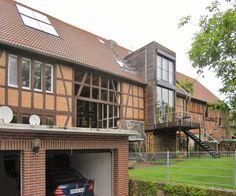 Kulturscheune dagobertshausen scheunen umbauten pinterest for Hausfronten modern
