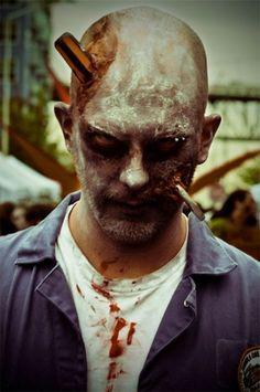 mens  Zombie Makeup   ... pour tous les themes Great costumes and makeup idéas for party