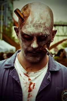 mens  Zombie Makeup | ... pour tous les themes Great costumes and makeup idéas for party