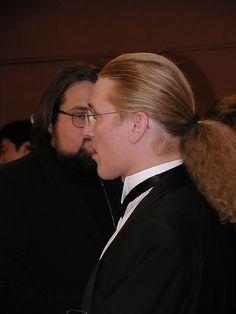 Nice hair. Virus Bulletin conference 2001.