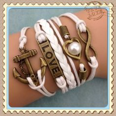 Fashionable Bracelets!. Starting at $1 on Tophatter.com!