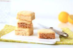 Frozen lemon squares - SINNER SUNDAY