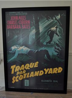 French Grande Cinema Poster Frame (Cherrywood) but we'll have to measure the poster first and then e-mail the size to them. Movie Poster Frames, Cinema Posters, Movie Posters, Led Light Box, Clip, Custom Framing, French, Cool Stuff, Lightbox