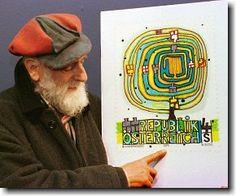 Friedensreich Hundertwasser, Gaudi, Art Lessons Elementary, Arts Ed, Art Plastique, Teaching Art, Op Art, Famous Artists, Art Studios