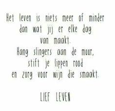 Het leven, lief leven