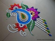Easy Rangoli Designs Videos, Indian Rangoli Designs, Rangoli Designs Latest, Simple Rangoli Designs Images, Rangoli Designs Flower, Rangoli Border Designs, Rangoli Ideas, Colorful Rangoli Designs, Kolam Rangoli