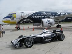 aircraft promotion livery | ... livery of the Williams Formula One team. The aircraft is christened