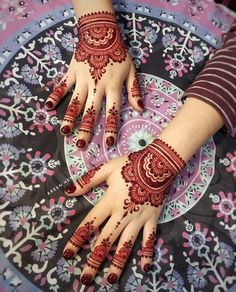 Are you looking for fresh and adorable mehndi or henna designs for 2018